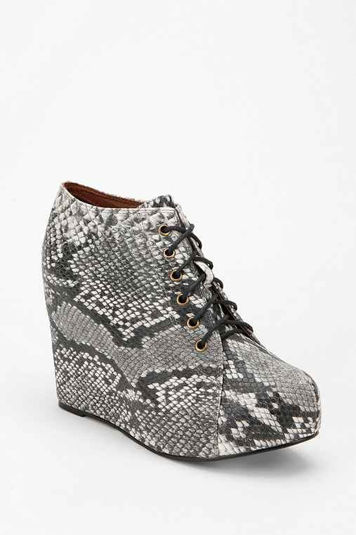 Jeffrey Campbell 99 Tie Snake Wedge