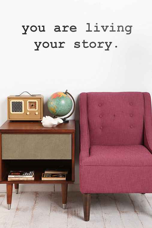 Thumbnail image for You Are Living Your Story Wall Decal
