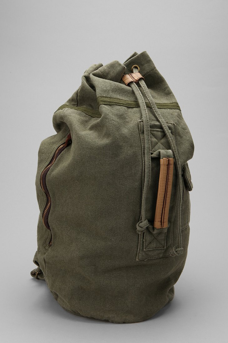 Canvas Duffle Backpack Urban Outfitters