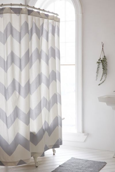 Zigzag Shower Curtain