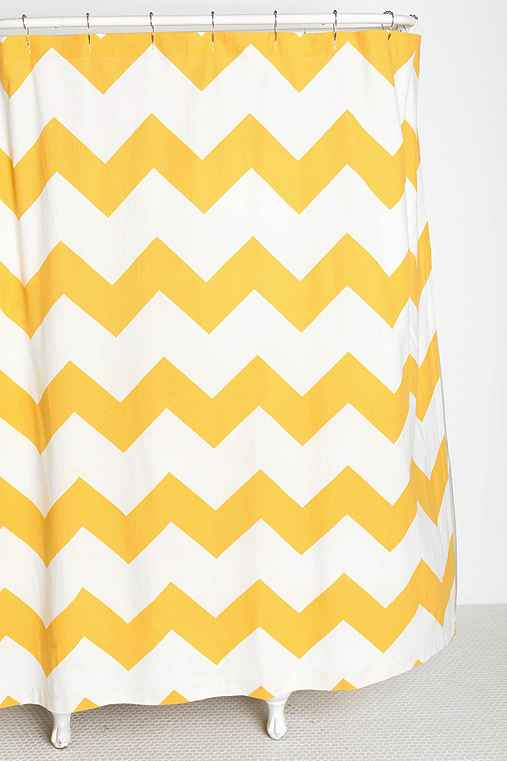 Zigzag Shower Curtain Urban Outfitters
