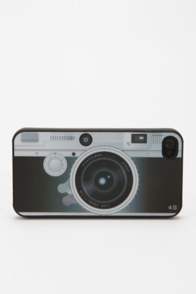 Lenticular Camera iPhone 3-4S Case