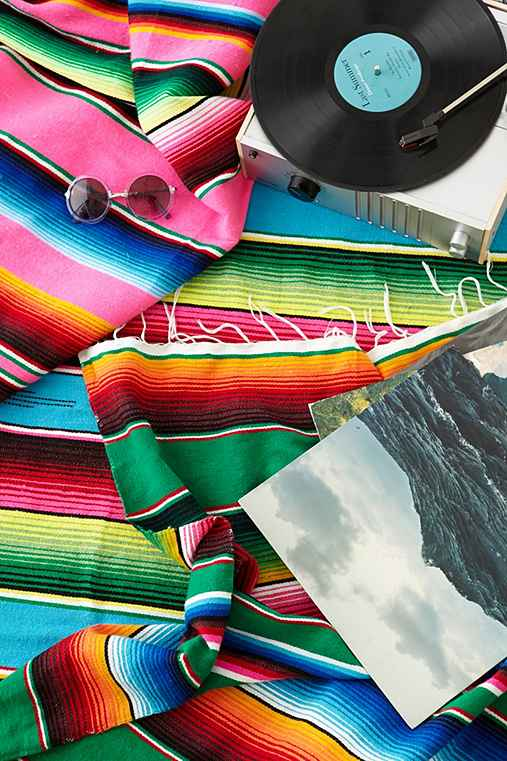 Thumbnail image for Serape Striped Blanket