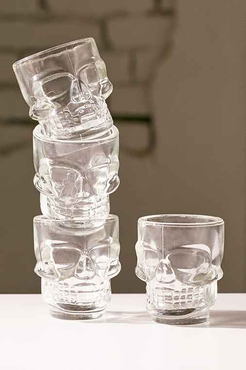Skull Shots - Set of 4