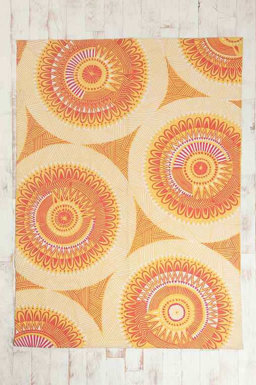 Southwestern Medallion Rug Urban Outfitters
