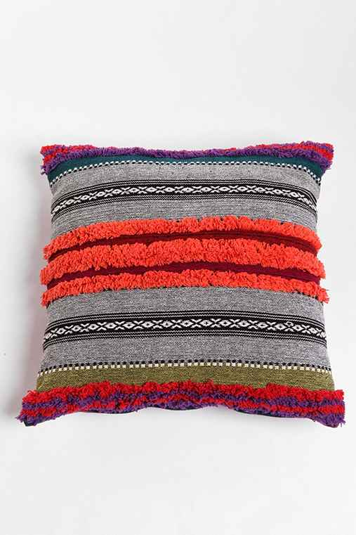 Tufted Stripe Pillow