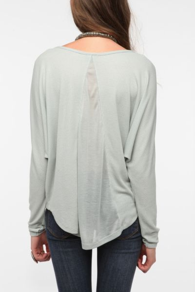 Sparkle & Fade Oversized Thermal Top