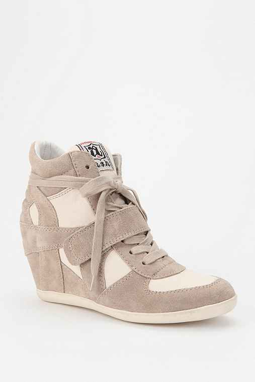 Ash Bowie Wedge-Sneaker: Clay 9 Womens Sneakers