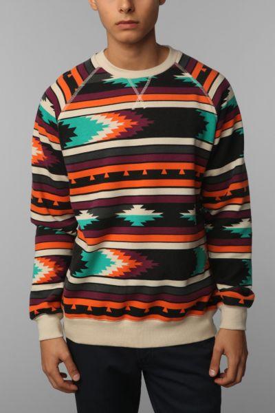 Deter Printed Pullover Sweatshirt