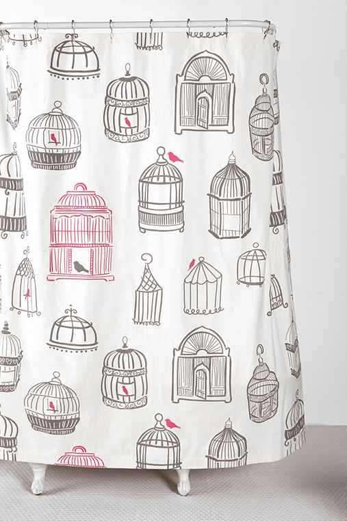 Birdcage Shower Curtain