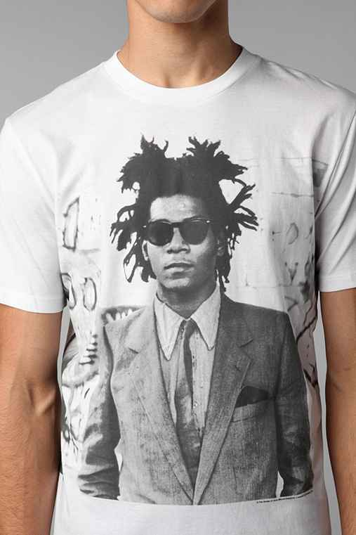 Big Basquiat Portrait Tee - Urban Outfitters
