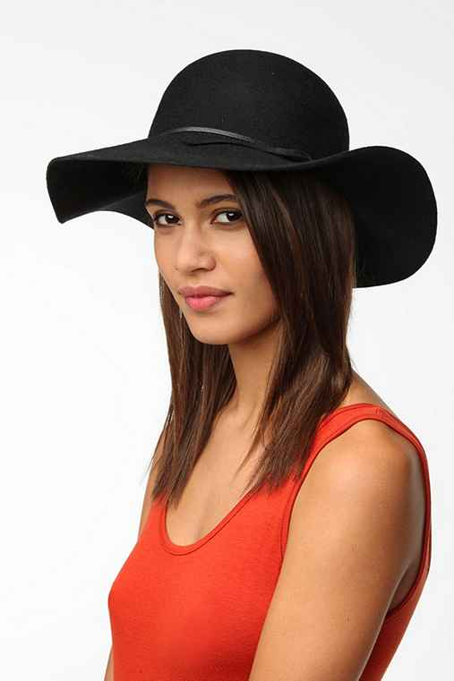 Staring At Stars Cross-Tie Floppy Felt Hat