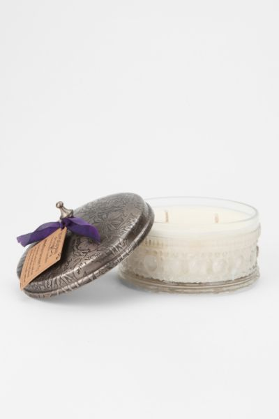 Himalayan Trading Post Powder Puff Glass Candle
