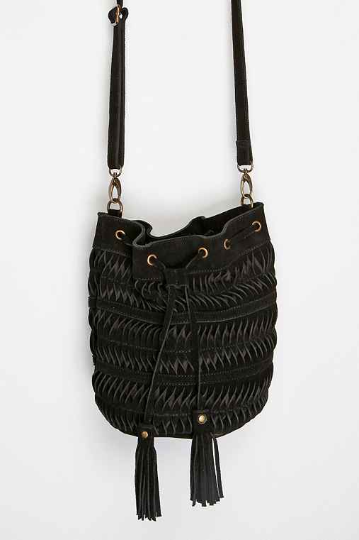 Ecote Twisted Suede Pouch