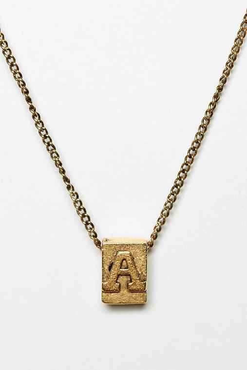 Build-A-Word Necklace