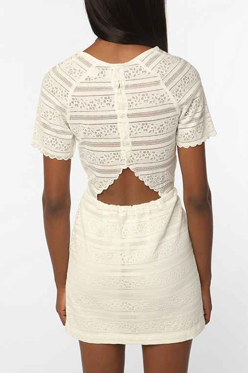 Dolce Vita Saurus Scallop Lace Dress