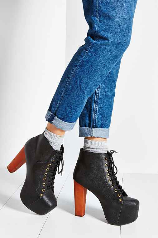 Jeffrey Campbell Leather Lita Boot