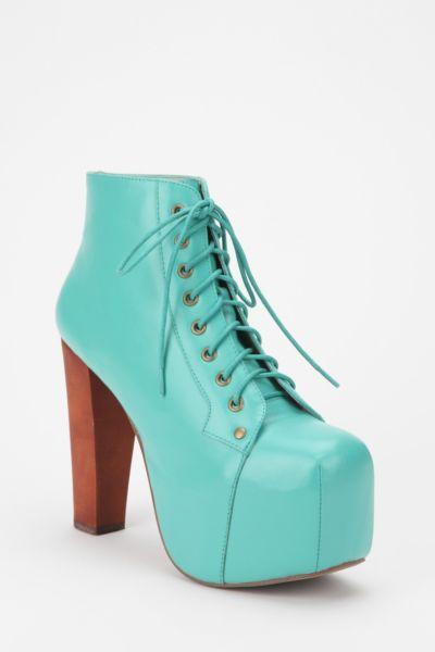 Jeffrey Campbell Leather Lita Boot