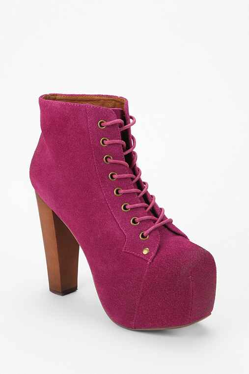 Jeffrey Campbell Suede Lita Boot