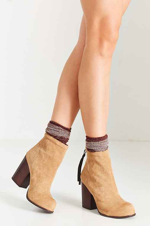 Jeffrey Campbell Suede Rumble Boot,TAUPE,6