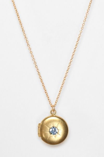 Edor for Urban Renewal Vintage Stargazer Locket Necklace