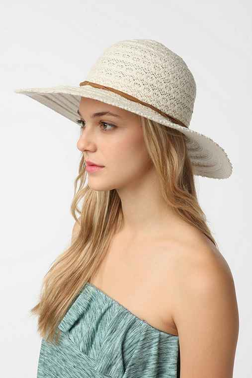 Pins and Needles Crochet Floppy Hat