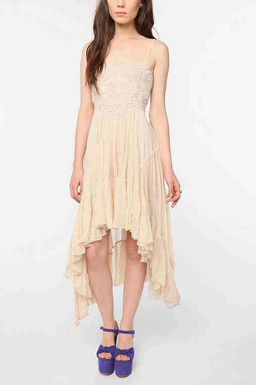 Betsey Johnson Pink Label Mixed Up Prairie Dress