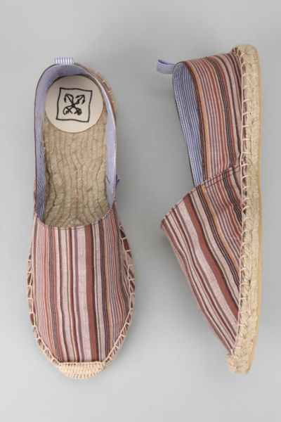 Anchor Yarn-Dyed Stripe Espadrille