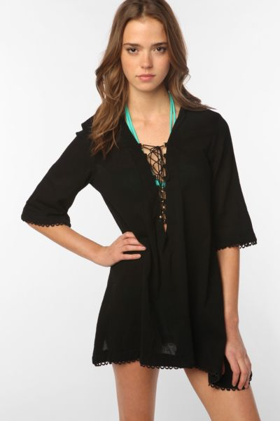 Sea Folly High Society Kaftan Cover-Up