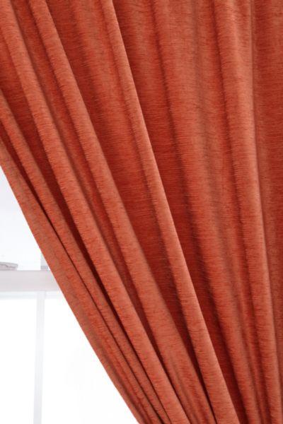 Textured Velvet Curtain