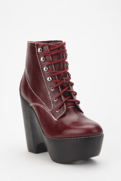 Jeffrey Campbell Leather Tardy Boot