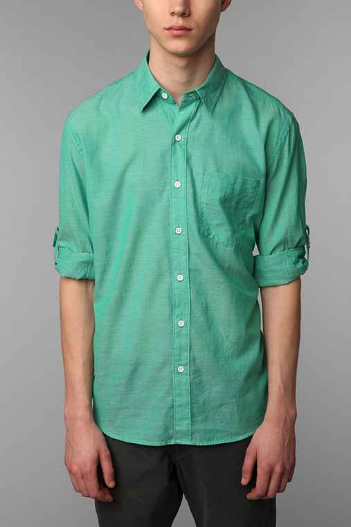 Hawkings McGill Breezy Solid Dress Shirt