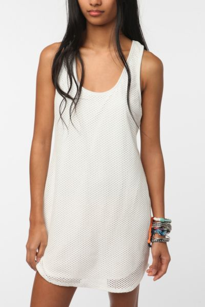 byCORPUS Mesh Tank Dress
