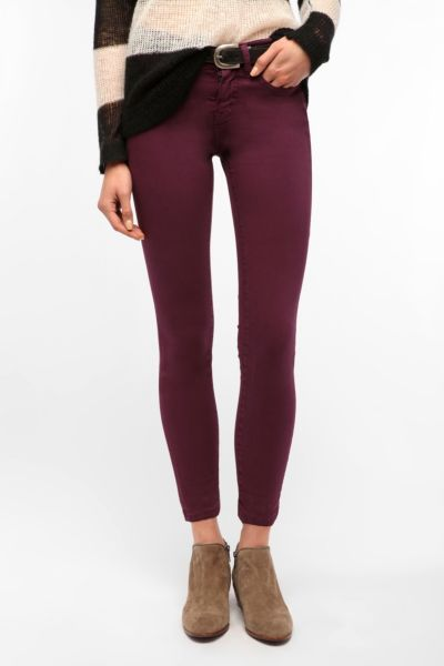 BDG Cigarette High-Rise Jean - Plum