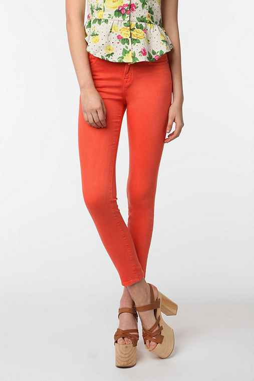 BDG Cigarette High-Rise Jean - Persimmon