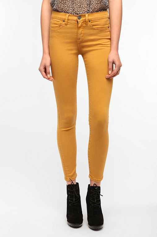 BDG Cigarette High-Rise Jean - Buckthorn