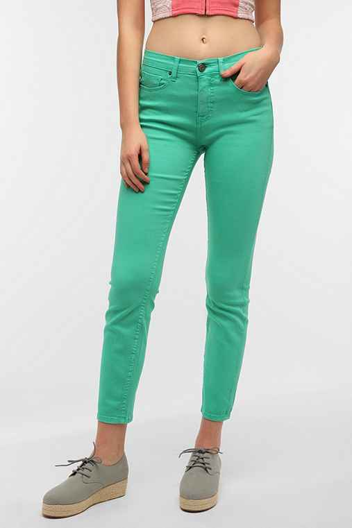 BDG Cigarette High-Rise Jean - Holly Green