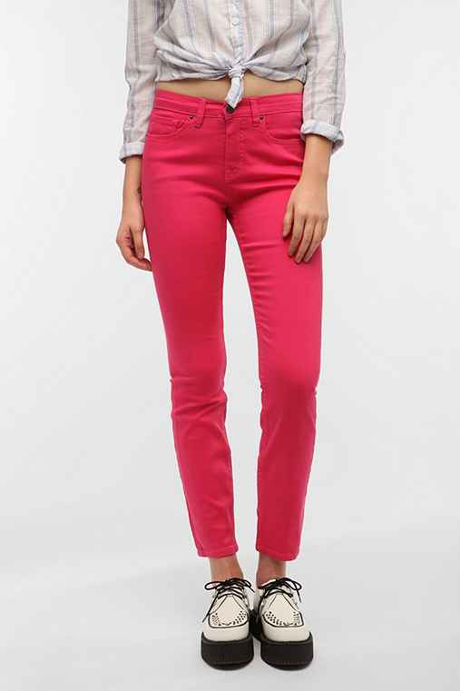 BDG Cigarette High-Rise Jean - Bright Rose