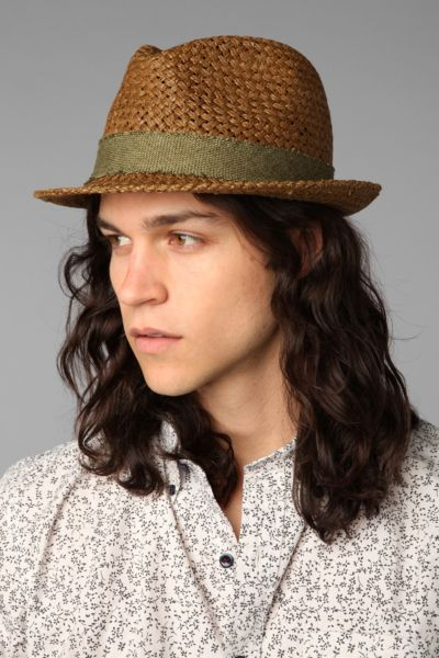 UO Frayed-Band Fedora