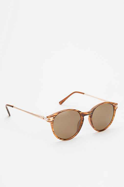 Retro Round Metal Sunglasses