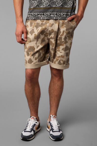 All-Son Utility Camo Short