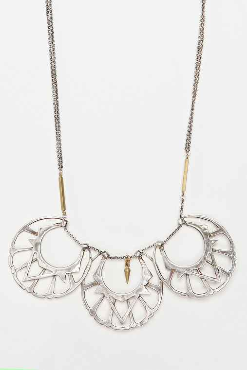 Bing Bang Moon Gorget Necklace