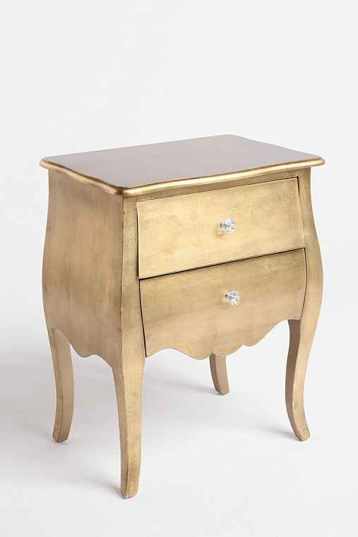 Thumbnail image for Brass Leaf Side Table