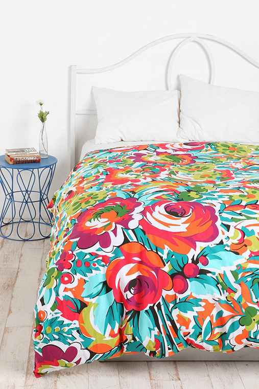 Bouquet Duvet Cover Urban Outfitters