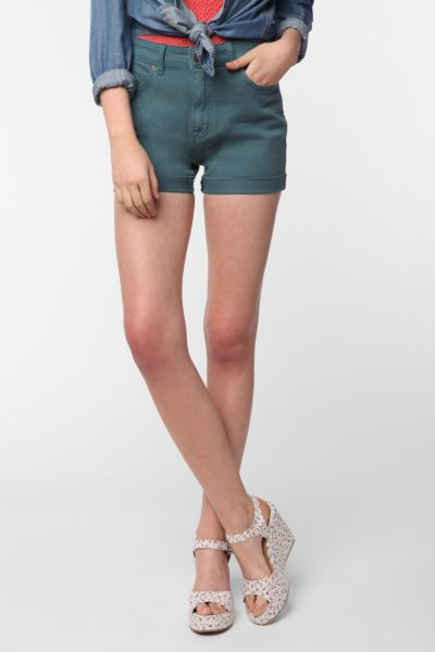 BDG High-Rise 5-Pocket Short - Blue