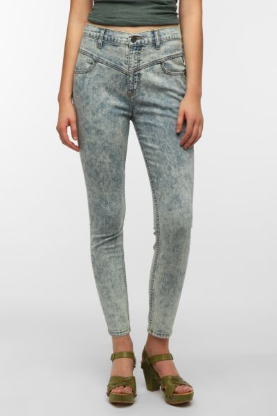 BDG High-Rise Seamed Jean - Light Blue