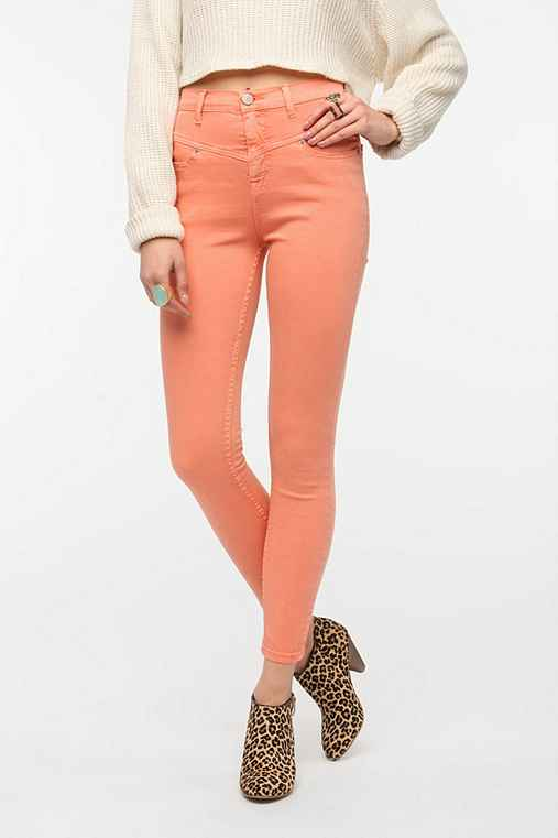 BDG Seamed High-Rise Jean - Coral