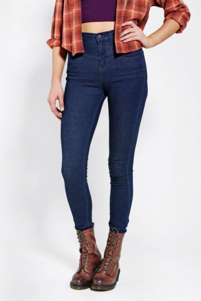 BDG High-Rise Seamed Jean - Pure Blue