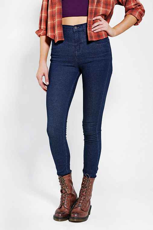 BDG Seamed High-Rise Jean - Pure Blue