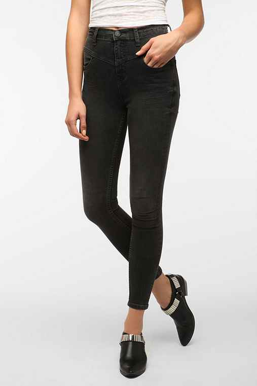 BDG Seamed High-Rise Jean - Grey